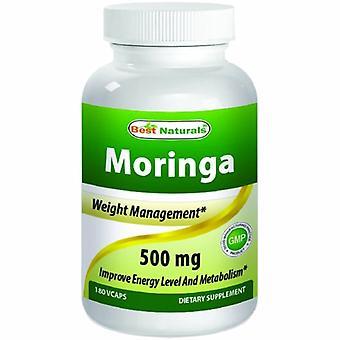 Best Naturals Moringa, 500 mg, 180 Caps