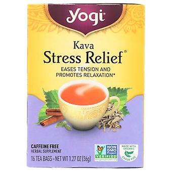 Yogi Tea- Kava Stress Relief , NA, 16 Bags