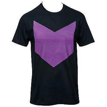 Hawkeye minimalistische symbol 30 einzelne T-Shirt