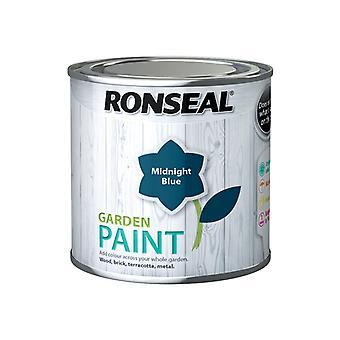 Ronseal Garden Paint Midnight Blue 250ml RSLGPMB250