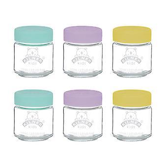 Kilner Kids Jars 110ml x 6 0025.016