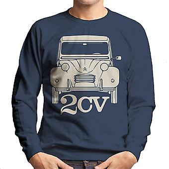 Citro�n 2CV For Dark Men's Sweatshirt