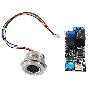 Tableau de contrôle des empreintes digitales de faible puissance + module de reconnaissance d'empreintes digitales ronde R503