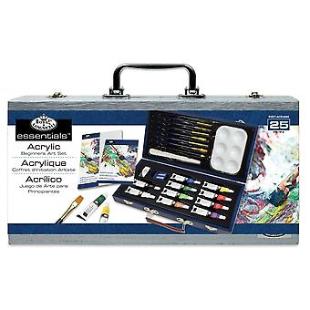Royal & Langnickel Acrylique Beginners Art Box Set