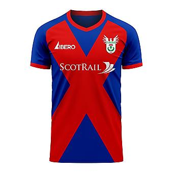 Inverness 2020-2021 Home Concept Football Kit (Libero)
