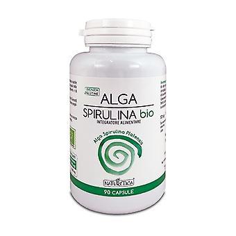 Organic Spirulina Algae 90 capsules of 640mg