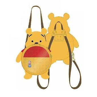Winnie the Pooh Pin Trader Backpack with Pin