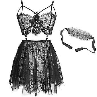شفافة ملابس الملابس الداخلية مثير الدانتيل Chemise Cosplay ملابس النوم الملابس الداخلية