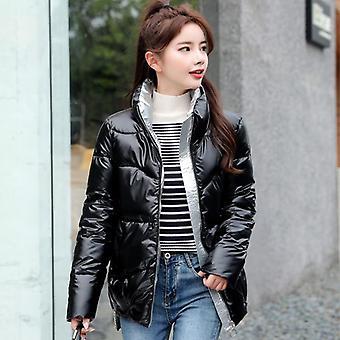 Χειμώνας υψηλής ποιότητας stand-callor παλτό γυναίκες σακάκια μόδας
