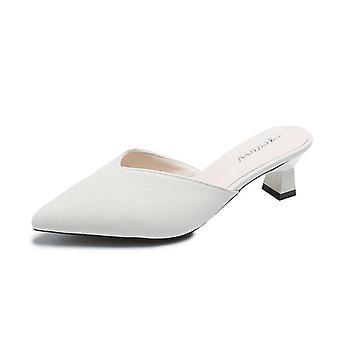 Women High Heels Pump Slip-on Sandals Comfortable High Heels