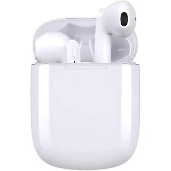 Wireless Headphones, Bluetooth V5.0 Wireless Earbuds Noise Canceling Earphones 35H Playtime