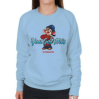Ein amerikanischer Schwanz Fievel Mousekewitz Sie haben diese Frauen's Sweatshirt