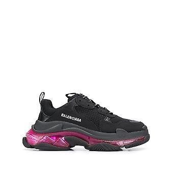 Balenciaga 544351w2fr11053 Damen's Schwarze Polyurethan Sneakers