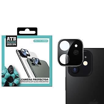 iPhone 12 Mini  Zwart Camera - Screenprotector Lens ATB