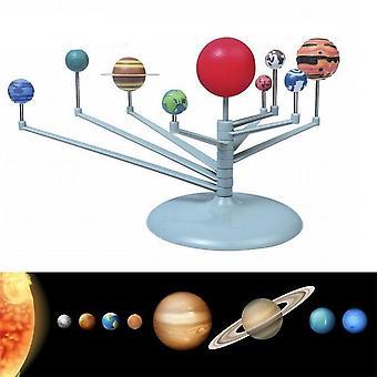 Solar System Nine Planets Planetarium Model Kit Worldwide Early Education