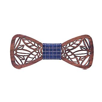 Leaf Wooden Bow Ties For W Butterflies Wedding Suit & Shirt