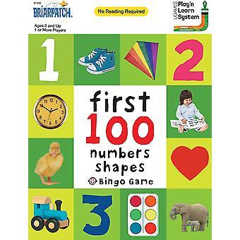 Ensimmäiset 100 numeroa, muodot bingo peli