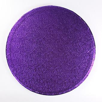 "8"" (203mm) Cake Board Round Purple - pojedynczy"