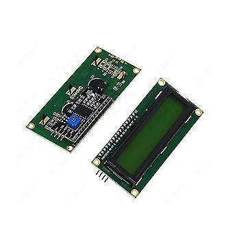 1602+ Iic/i2c - Lcd zobrazovací modul, modrá obrazovka ovladače, podsvícení