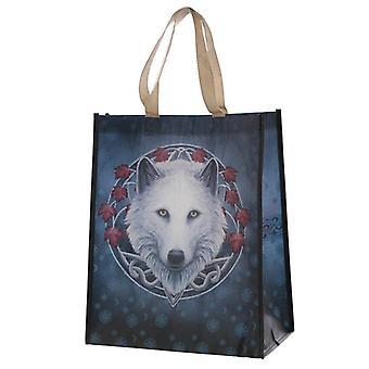 Gardien du sac à provisions réutilisable de loup d'automne