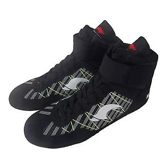Gym Sport Wrestling Boots, Professional Boxing Shoes, Gear Sneakers,