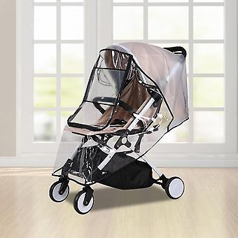 Waterproof, Transparent Wind Dust Shield, Rainproof Cover For Baby Strollers