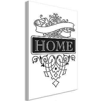 Wandbild - Home (1 Part) Vertical