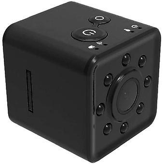 Mini Camera SQ13 HD 1080P Sports Camcorder Mini DV Video Recorder Night Vision and Motion Detection for (Black)