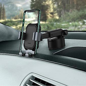 Baseus Universele Telefoonhouder Auto met Dashboardstandaard - Gravity Smartphone Houder Zwart