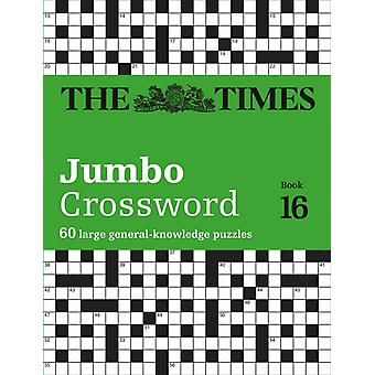 The Times 2 Jumbo Crossword Book 16 by John Grimshaw
