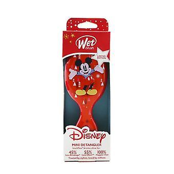 Våt borste Mini Detangler Disney Klassiker - # Mickey & Minnie and Trees Red (Limited Edition) 1st
