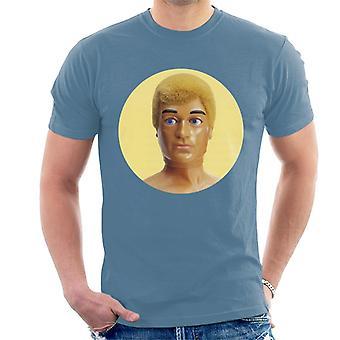 Action Man Blond 70-tal Herr T-Shirt