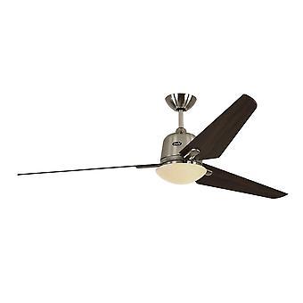 """Ventilatore a soffitto CC Eco Aviatos 162cm / 64"""" BN Blades Noce"""