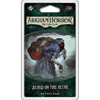Arkham skräck: kort spelet-Blood på altaret expansion