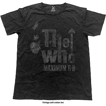 The Who - Max R&B Vintage Unisex X-Large Camiseta - Negro