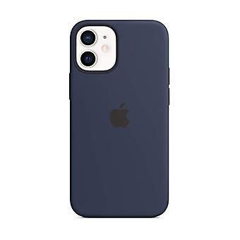 Custodia in silicone Apple con MagSafe (per iPhone 12 mini) - Deep Navy