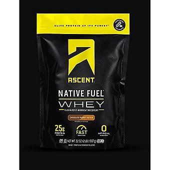 Beklimming Native Fuel Whey Chocolate Peanut Butter, 2 lbs