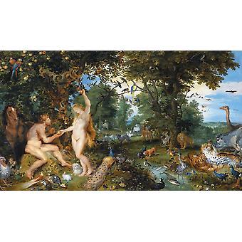 Piatnik The Garden of Eden with the Fall of Man, Breughel & Rubens Jigsaw Puzzle (1000 Pieces)