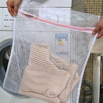 Zippered Mesh Laundry Wash Bags For Delicates Bra Lingerie Socks Underwear