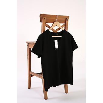 V Neck Short Sleeve Basic T-shirt