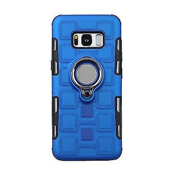 Boîtier shell TPU avec stand pour Samsung Galaxy J7 / J7 NEO / J7 NXT - Bleu