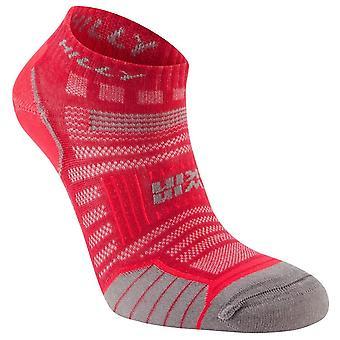 Hilly Twin Skin Socklets - Magenta/Grey Marl