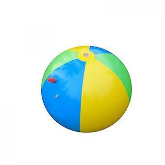 Oppustelig sprinklervandsbold udendørs sjovt legetøj til varm sommersvømningsfest(3 farver)