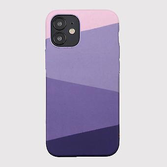 Eco friendly printed haze purple iphone 12 mini case