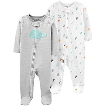 Simple Joys von Carter's Baby 2-Pack Baumwolle Füße Schlaf und Spiel