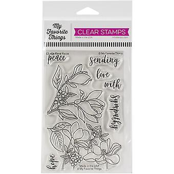 """My Favorite Things Clear Stamps 4""""X6"""" - Floral Focus"""