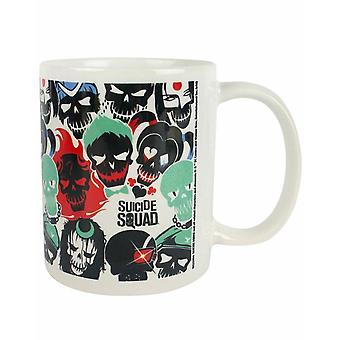 Suicide Squad Skull Ceramic Mug