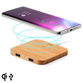 Chargeur sans fil Qi pour smartphones Bamboo 146542