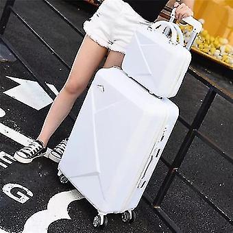 Rullande bagage resa resväska med hjul Spinner Trolley Case