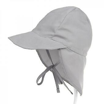 כובעי תינוק פעוט כובע חוף אפור